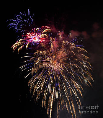 Photograph - Brevard Fireworks 3 by Kevin McCarthy