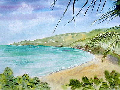 Painting - Brewers Bay by Diane Kirk