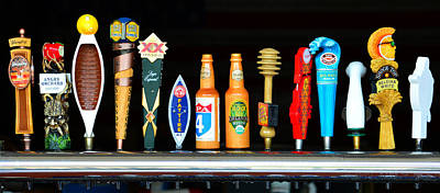 Photograph - Brewers Line Up by David Lee Thompson