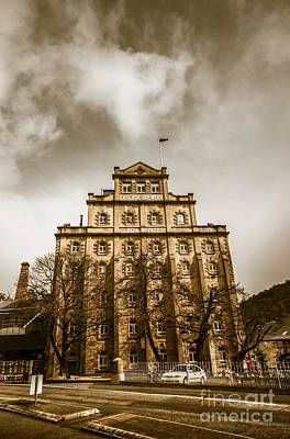 Beer Photos - Brewery building by Jorgo Photography - Wall Art Gallery