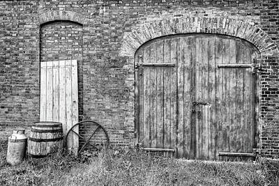 Photograph - Brewhouse Door by Nick Bywater