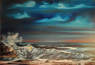 Brewing Storm Art Print by James Higgins