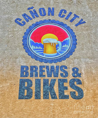 Photograph - Brews And Bikes by Tony Baca