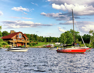Photograph - Brewster Boating by WolfeboroGifts Galleries