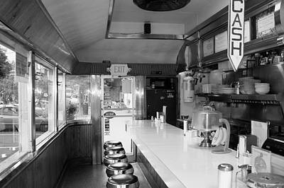 Photograph - Brewster Diner by Polly Castor