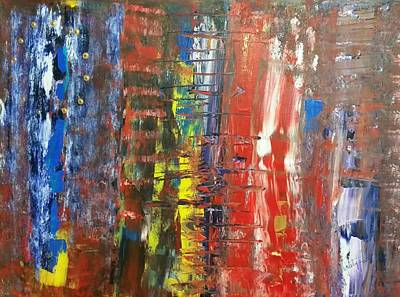 Painting - Brexzit  by Piety Dsilva