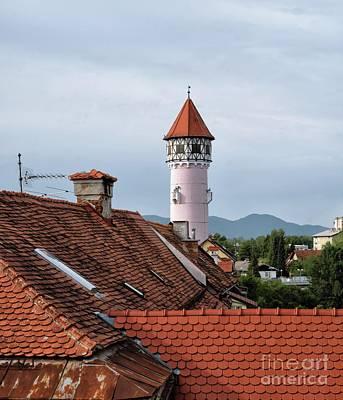 Styria Photograph - Brezica Rooftops by Norman Gabitzsch