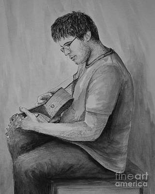 Drawing - Brian by Michelle Welles