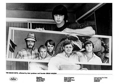 Jardine Photograph - Brian Wilson And The Beach Boys 1966. by The Titanic Project