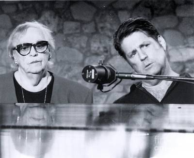 Jardine Photograph - Brian Wilson, Founder Of The Beach Boys, And  His Mother Audree - 1994 by The Titanic Project