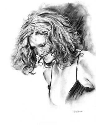 Pretty Girls Drawing - Briana by Tom Hedderich