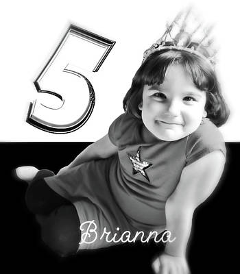 Photograph - Briann At 5 by Rena Trepanier