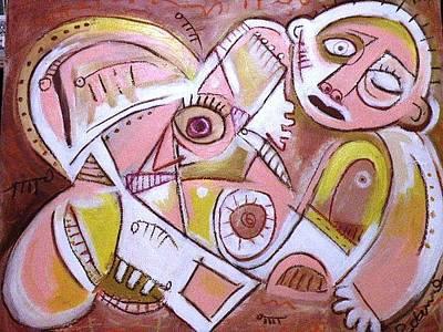 Robert Daniels Painting - Brians Song by Robert Daniels