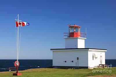 Photograph - Briar Island Lighthouse by Tatiana Travelways