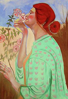 Briar Rose Art Print by Rusty Woodward Gladdish