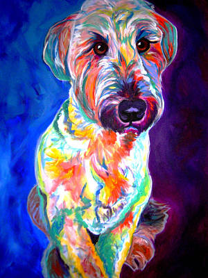 Dawgart Painting - Briard - Albert by Alicia VanNoy Call