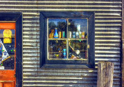 Print featuring the photograph Bric-a-brac by Wayne Sherriff
