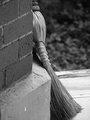 Photograph - Brick And Broom by Jeffrey Peterson