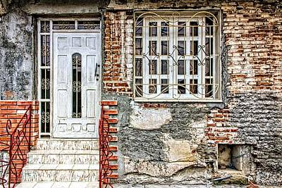 Photograph - Brick And Iron by Dawn Currie