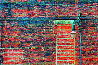 Photograph - Brick And Light by Dee Browning