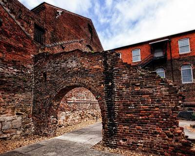 Photograph - Brick Arch by Alan Raasch