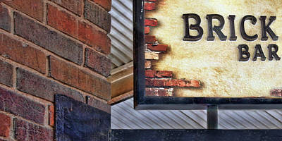Photograph - Brick Bar by Nikolyn McDonald