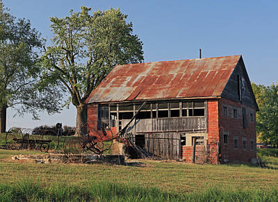 Photograph - Brick Barn by Christopher McKenzie