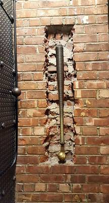 Photograph - Brick, Bat And Ball by Rob Hans