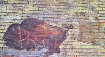 Photograph - Brick Buffalo by JAMART Photography