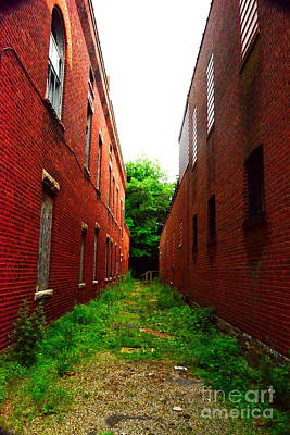 Photograph - Brick Canyons by Jesse Ciazza