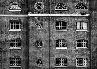 Photograph - Brick Facade #1 by Michael Niessen