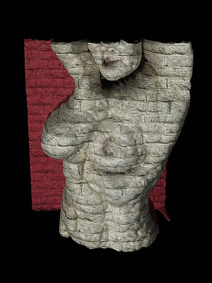 Digital Art - Brick by James Barnes