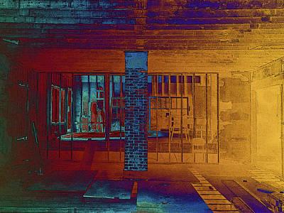 Photograph - Brick Post by David Pantuso