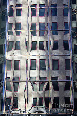 Photograph - Brick Reflections by Alycia Christine