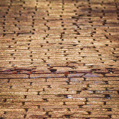 Photograph - Brick Road by Chris Bordeleau