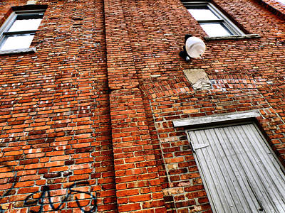 Photograph - Brick Wall by Scott Hovind