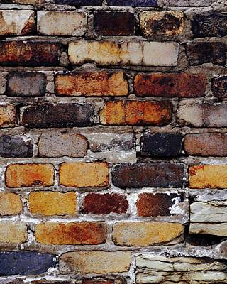 Photograph - Brick Wall by Tim Good