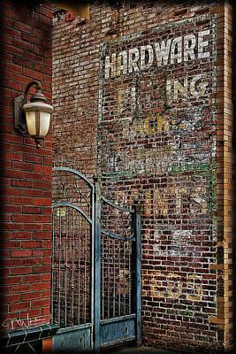 Photograph - Brick Walls by Norma Warden