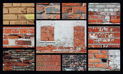 Photograph - Brickabrack 2 by Mary Bedy