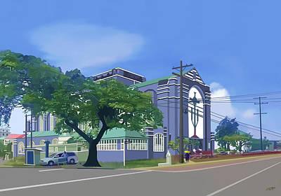 Brickdam Cathedral Guyana Original