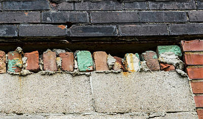 Photograph - Bricked by Denise McKay