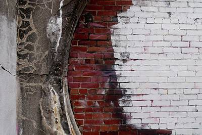 Photograph - Bricked In by Tim Good