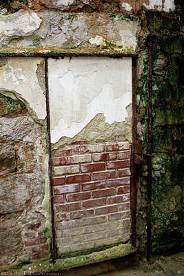 Bricked Up Cell At Eastern State Penitentiary  Art Print by Scott Kwiecinski
