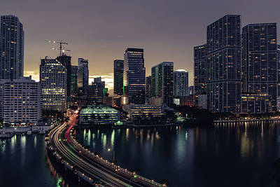 Photograph - Brickell City Centre by Nisah Cheatham