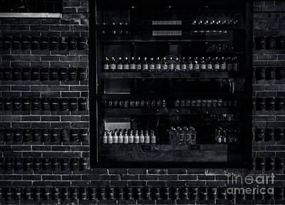 Photograph - Bricks And Bottles by James Aiken