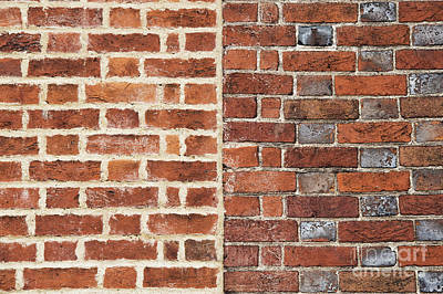 Photograph - Bricks And Mortar by Tim Gainey
