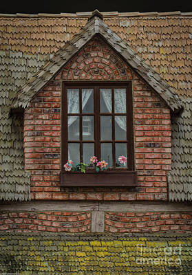 Photograph - Bricks And Shingles by Mitch Shindelbower
