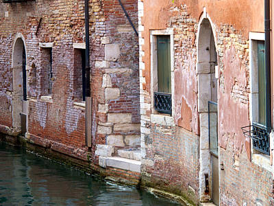 Photograph - Bricks And Water by David Beebe