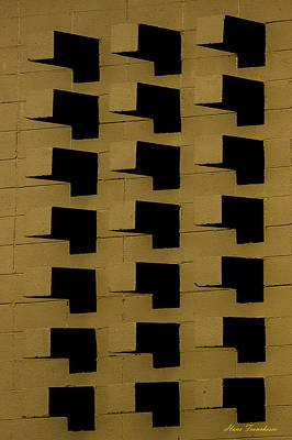Photograph - Bricks by Hans Franchesco