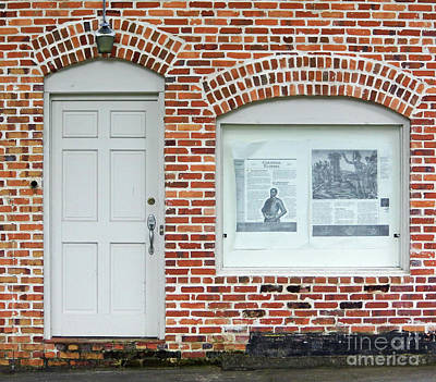 Photograph - Bricks Over The Door And Window by D Hackett